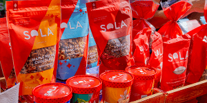 sola packaging