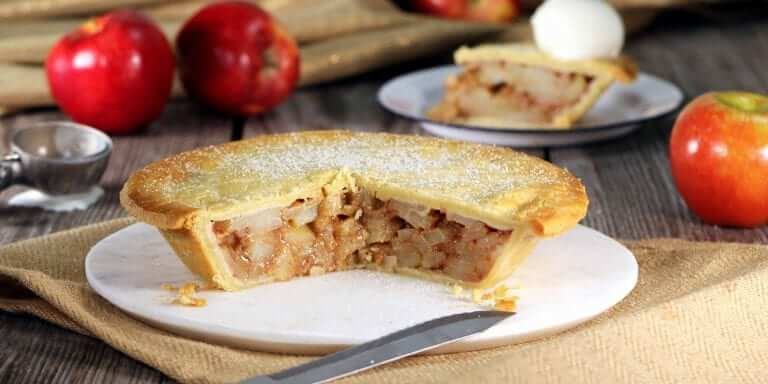 Low-Carb Mock Apple Pie
