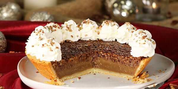 Featured Recipe: Low-Carb Pecan Pie