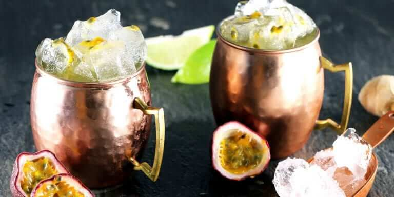 Passion Fruit & Ginger Moscow Mule