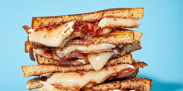 Brie And Bacon Grilled Cheese Sola