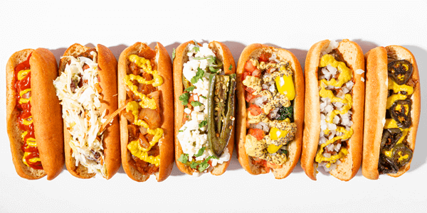 Hot Dog Blog Banner