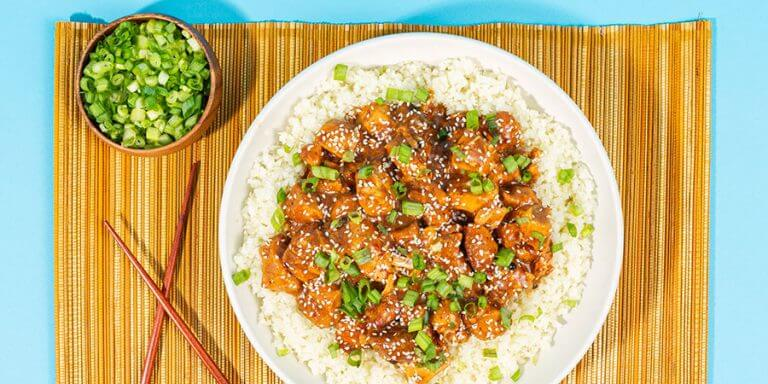 Low-Carb Slow Cooker General Tso's Chicken