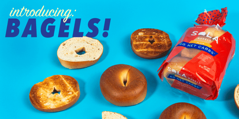 SOLA Adds Bagels to Their Low Carbohydrate Line Up