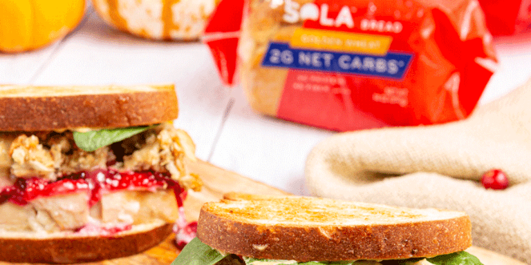 Low-Carb Thanksgiving Leftover Sandwich